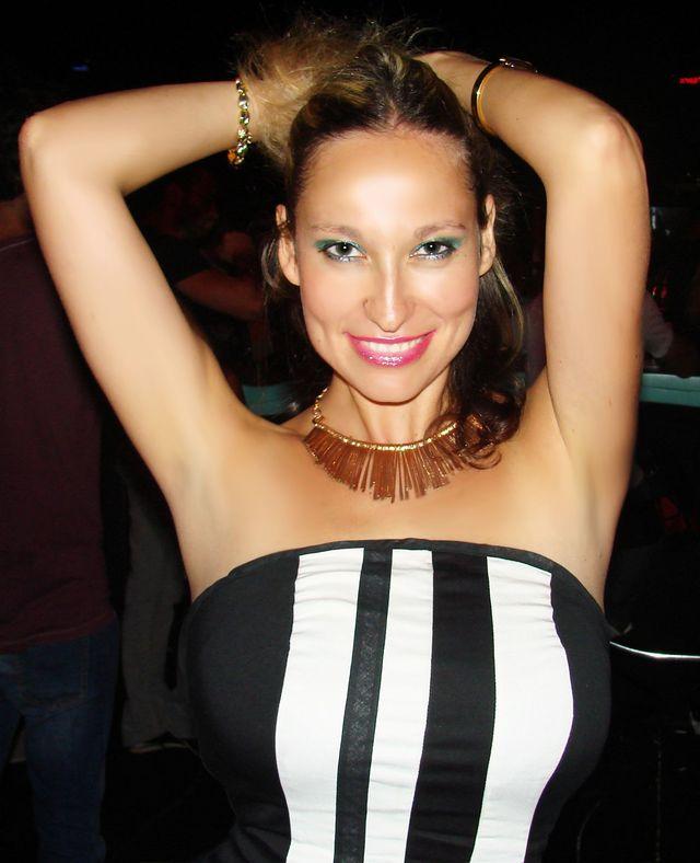 Big natural tits - hot MILF on webcam