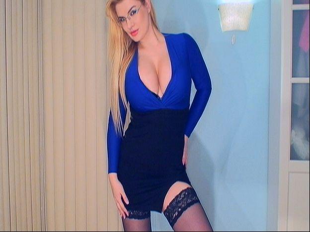 Hot, busty secretary Helen