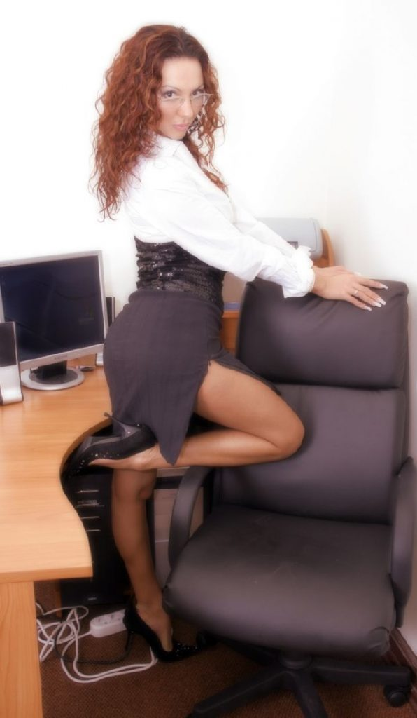 Hot, slutty secretary Jasmine