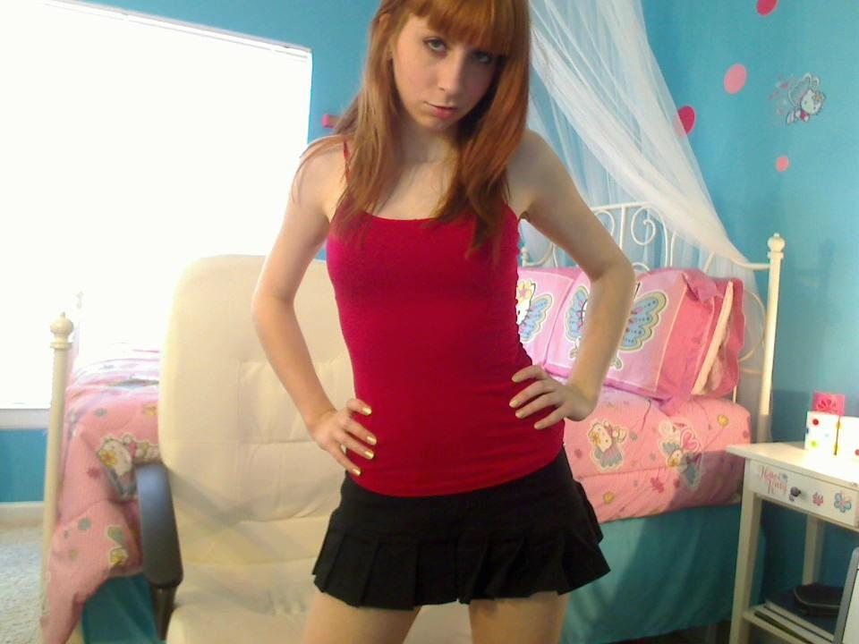 Slutty college girl - sexchat, striptease on cam