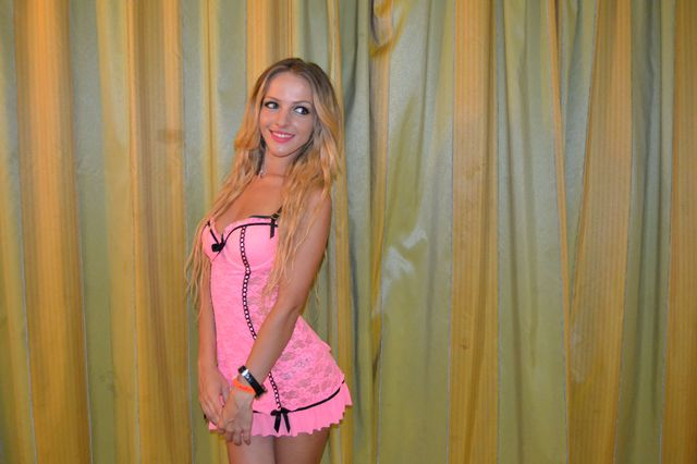 Sweet college girl Nadine - sexchat, striptease on cam