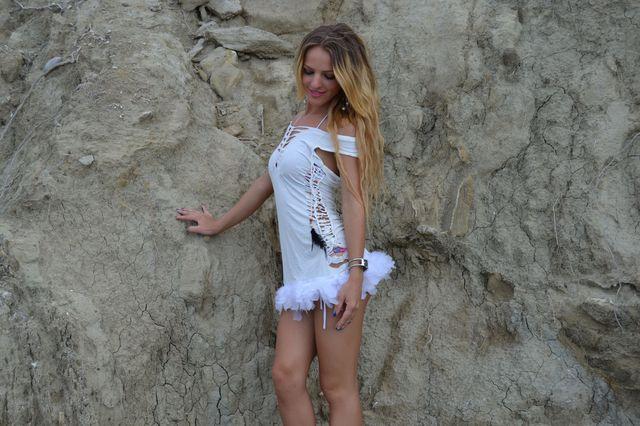 Sweet, playful college girl Nadine