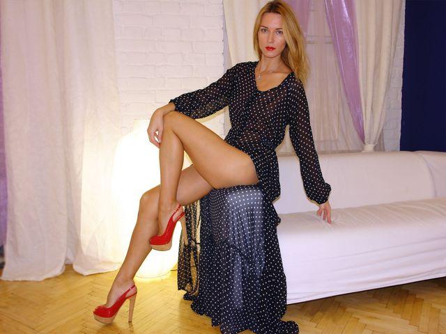 Stunning cam girl sexy legs