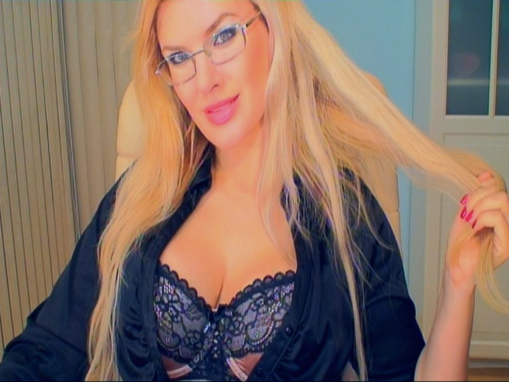 Sexy busty secretary Helen